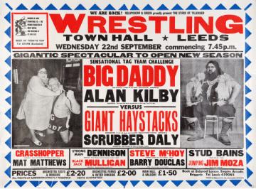 British Wrestling Poster