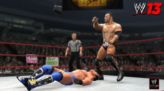 Wwe 13 The Rock Ken Shamrock