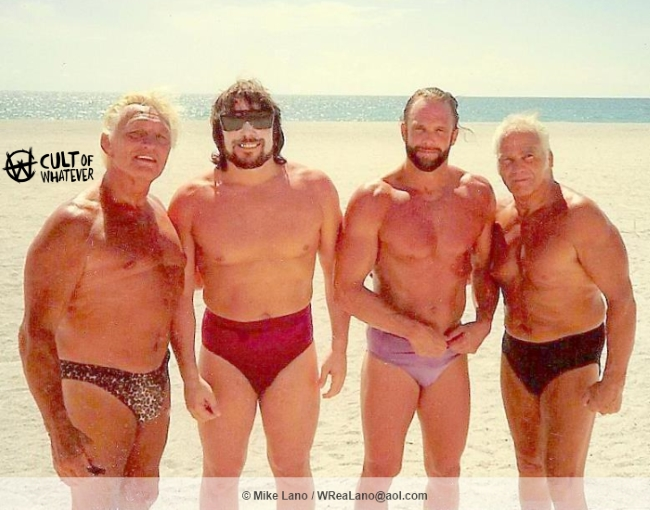 Buddy Lanny Randy Savage Angelo Poffo