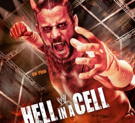 Hell In A Cell 2012 Poster