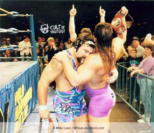 WCW Steiner Brothers Hug
