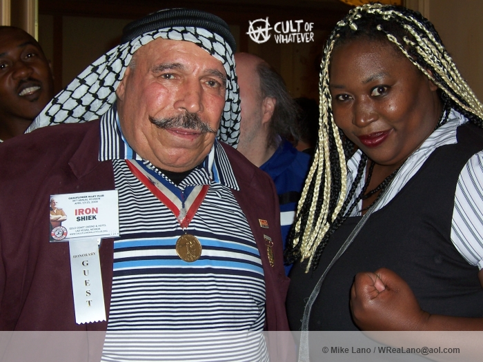Iron Sheik with Kharma