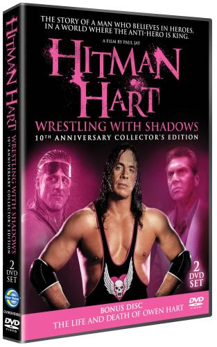 Wrestling With Shadows Bret Owen Hart Dvd