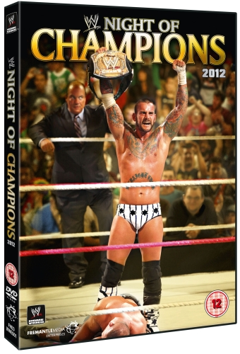 Wwe Night Of Champions 2012 Dvd