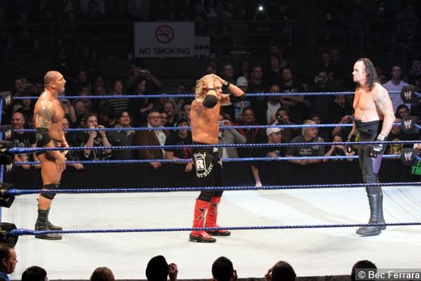 Batista Edge The Undertaker