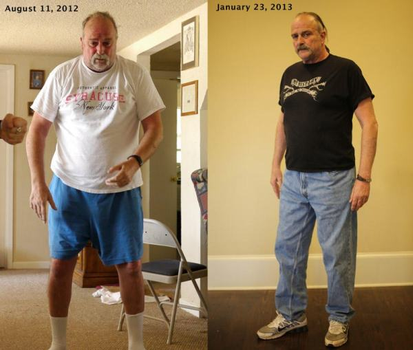 Jake Roberts DDP Yoga Before and After