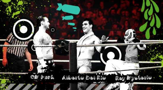 Jr Wwe Cm Punk Alberto Rey Mysterio