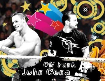 Jr Wwe John Cena Cm Punk 2