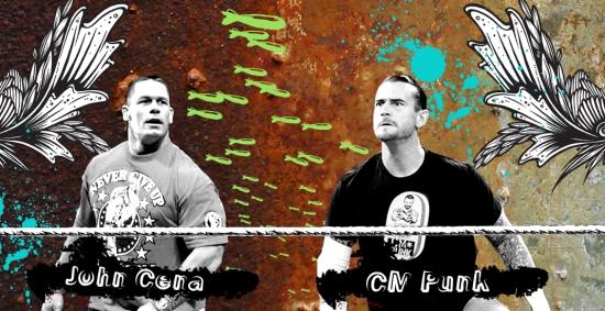 Jr Wwe John Cena Cm Punk