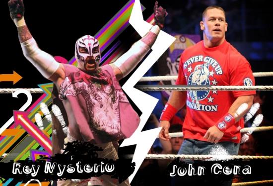 Jr Wwe John Cena Rey Mysterio