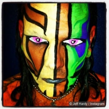 Tna Jeff Hardy Face