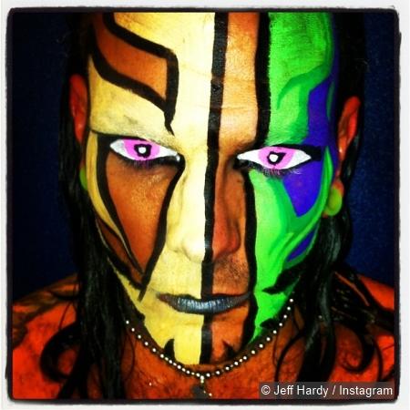 TNA Jeff Hardy Face