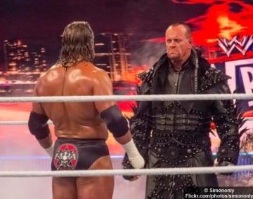 Wrestlemania Tripleh Undertaker