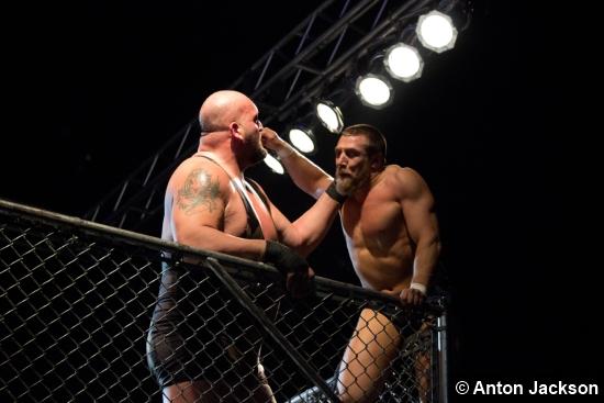 Wwe Daniel Bryan Big Show Cage
