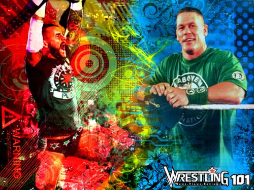 Wwe Punk Cena Jr2012