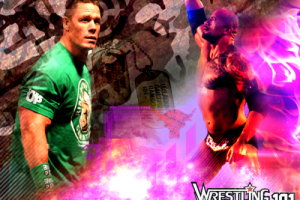 Wwe Rock Cena Jr2012