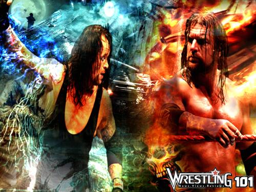 Wwe Undertaker Triple H Jr2012
