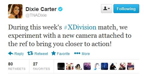 Dixie Ref Cam Tweet