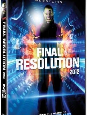 Tna Final Resolution 2012 Dvd