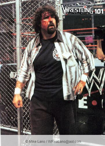 Wwe Mick Foley Blood Cage