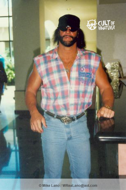 Macho Man Randy Savage At Home
