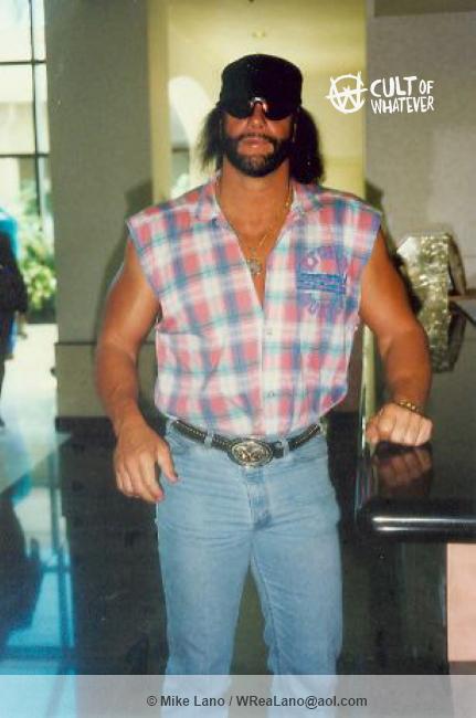 Macho Man Randy Savage At Home