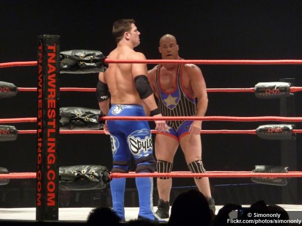 Tna Aj Styles Kurt Angle