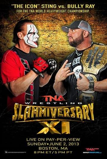 Tna Slammiversary 11 Poster
