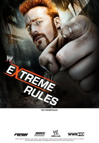 Wwe Extreme Rules 2013 Poster