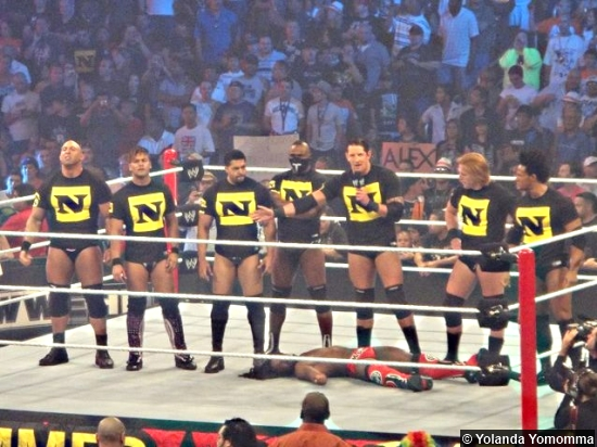 Wwe The Nexus Summerslam 2010