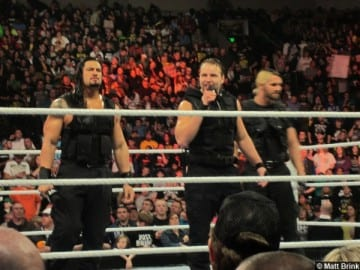 Wwe The Shield Talking