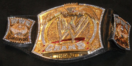 Sheamus's WWE Title Belt