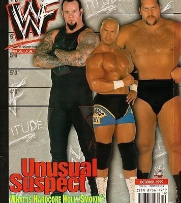 Wwf Magazine Undertaker Big Show Hardcore Holly
