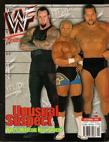 WWF Magazine Undertaker Big Show Hardcore Holly