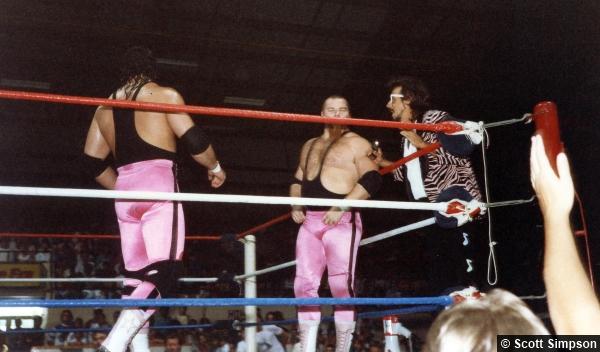 Hart Foundation Bret Hart Jim Neidhart Jimmy Hart