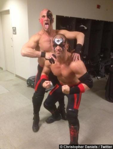 TNA Christopher Daniels Kazarian LOD Attire
