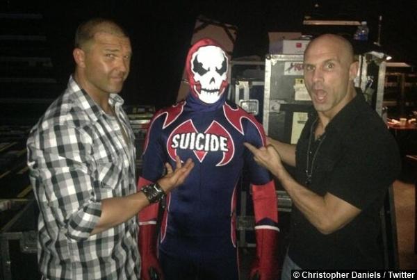 TNA Kazarian Suicide Christopher Daniels