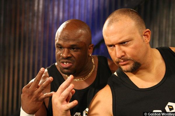 TNA Team 3D Hand Sign Devon Bully Dudley
