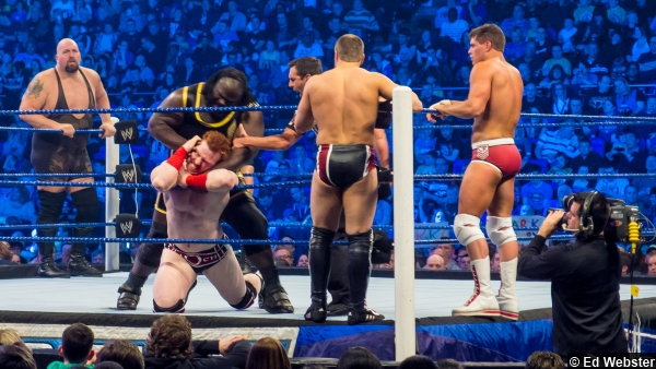 Wwe Mark Henry Sheamus Ropes Big Show Daniel Bryan Cody Rhodes