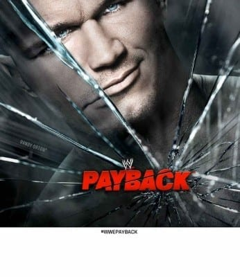 Wwe Payback 2013 Poster