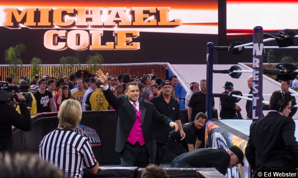 WWE WrestleMania 28 Michael Cole