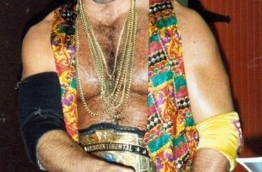 WWF Razor Ramon Scott Hall Intercontinental Title Belt