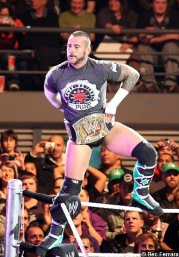 Wwe Cm Punk Wwe Title 2012