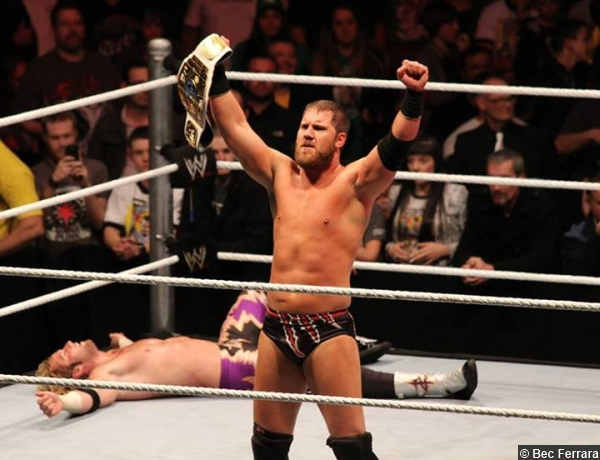 Wwe Curtis Axel Intercontinental Title Zack Ryder 2013
