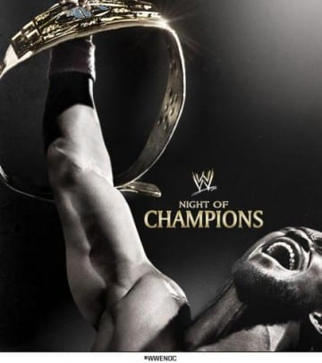 Wwe Night Of Champions 2013 Poster