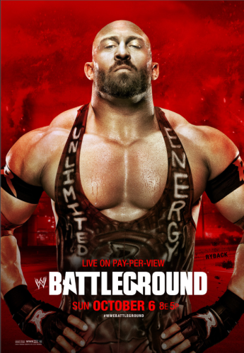 Wwe Battleground 2013 Poster