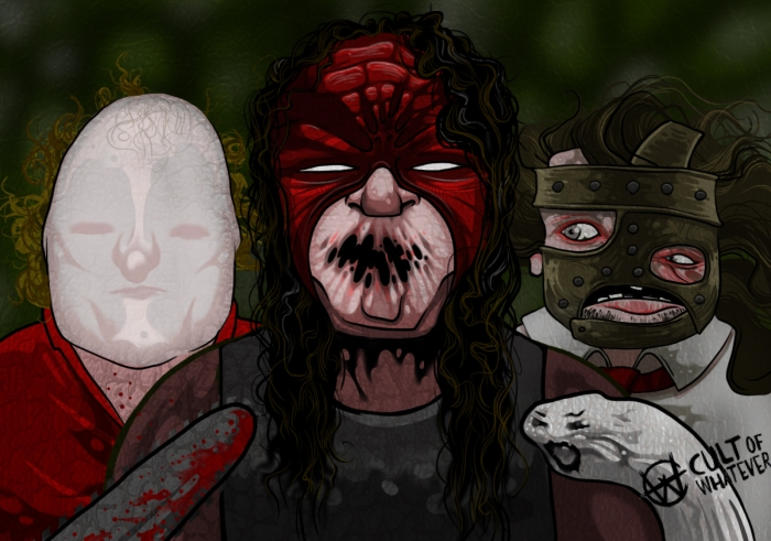 Wwe Chainsaw Charlie Kane Mankind 1