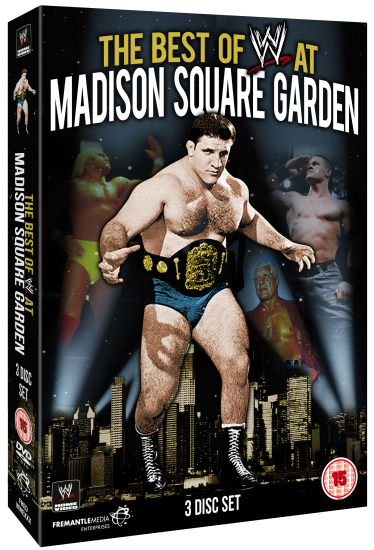 Wwe Msg Dvd Set