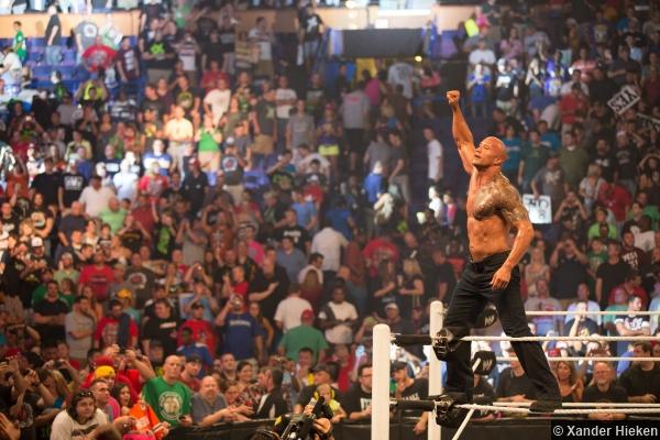 Wwe Raw 1000 The Rock 2