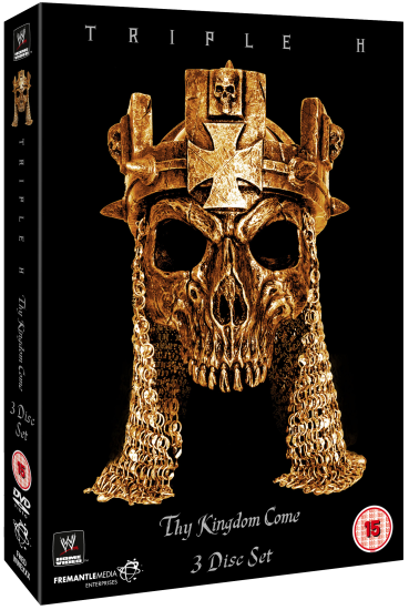 Wwe Triple H Kingdom Dvd Set